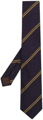 Church's diagonal stripe tie