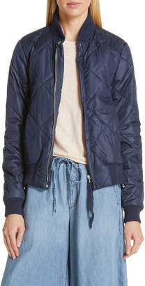 NSF Quilted Bomber Jacket
