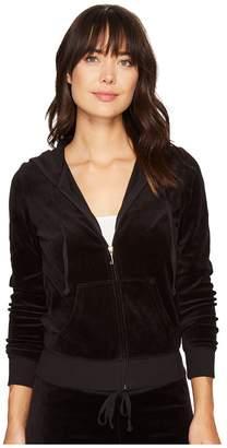 Juicy Couture Robertson Velour Jacket Women's Coat
