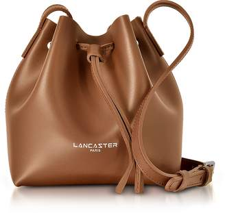 Lancaster Paris Pur & Element Smooth Leather Mini Bucket Bag