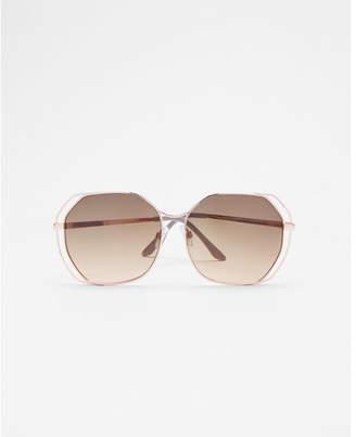 Express square lens sunglasses