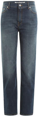 McQ Cropped Straight Leg Jeans