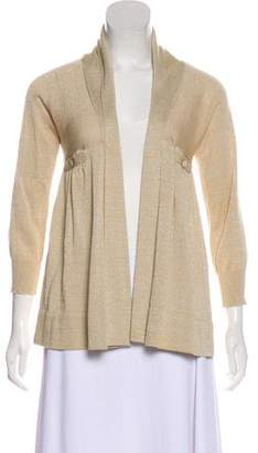 Mayle Metallic Knit Cardigan