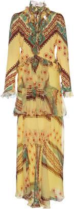 Etro Mar Ruffle Dress