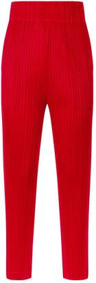 Pleats Please Tapered Trousers