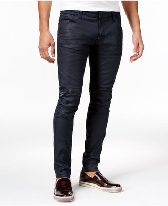 G-Star Raw Men's Slim-fit 3D Zip Knee Jeans $160 thestylecure.com