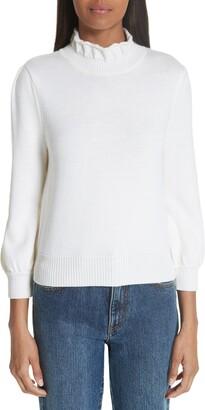 Co Essentials High Collar Wool Sweater
