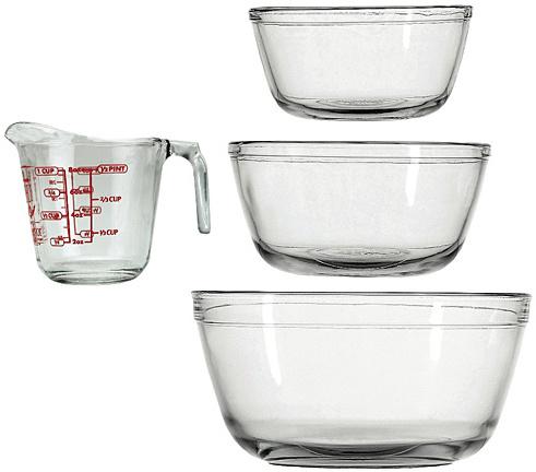 Mixing Bowl & Measuring Cup Set