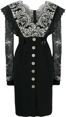Three floor Lace Infusion dress