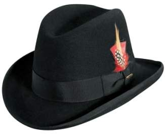 Scala Wool Homburg Hat