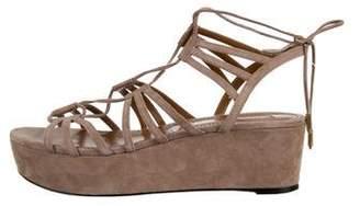 Aquazzura Roma Platform Sandals