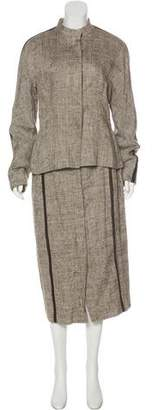 Max Mara Linen & Silk Skirt Suit w/ Tags