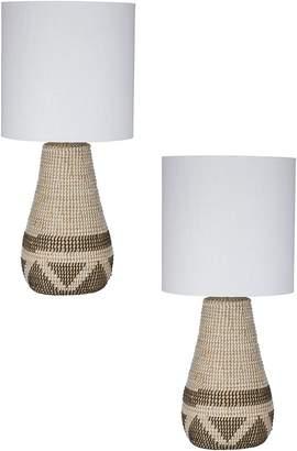 Amalfi by Rangoni Odawa Table Lamp (Set of 2)