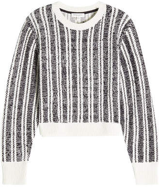 Public School Printed Pullover with Merino Wool