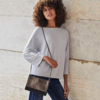 The White Company Suede Shoulder Bag