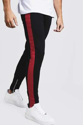boohoo Slim Fit Jogger With Panel