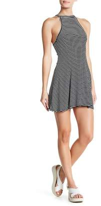 Angie Ribbed Knit Swing Dress
