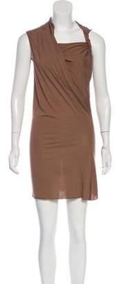 Rick Owens Knit Sleeveless Mini Dress