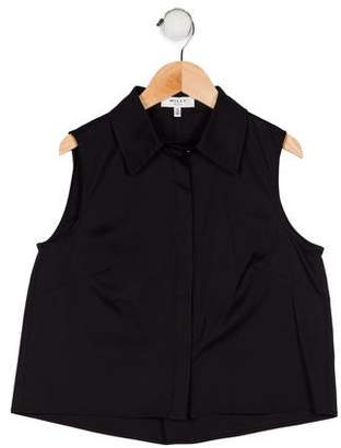 Milly Girls' Sleeveless Top w/ Tags