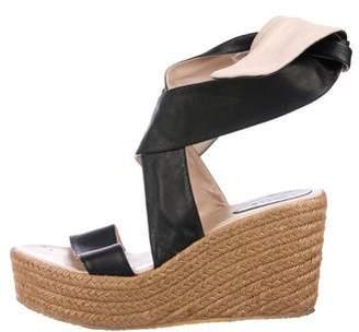 Chloé Lace-Up Espadrille Sandals