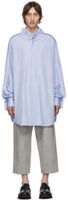 Maison Margiela Blue Long Shirt