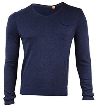 HUGO BOSS BOSS Orange Men's Kerpen Lightweight Merino Blend V-Neck Sweater