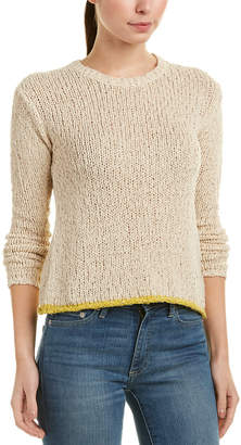 James Perse Crew Linen-Blend Sweater