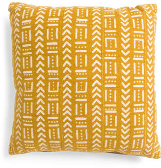 20x20 Multi-pattern Mudcloth Pillow