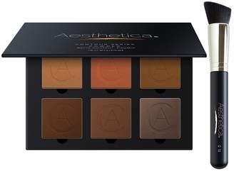 Aesthetica Cosmetics Contour Series Tan to Dark Powder Kit