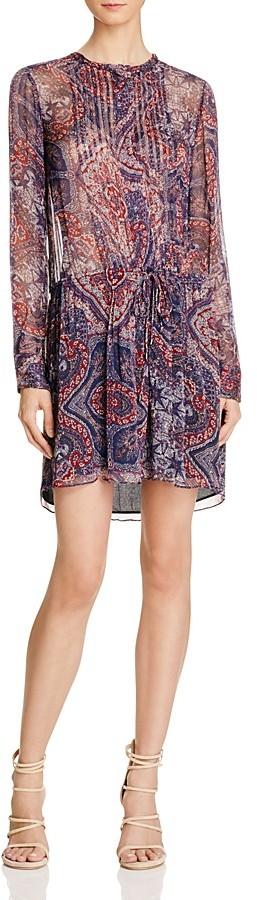 Love Sam Paisley Shirt Dress