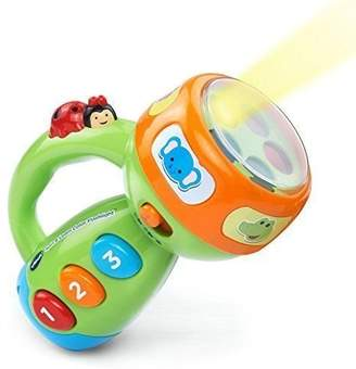 Spin and Learn Color Flashlight Baby Kids Toddler Learning Educational Toy by Toy Gift