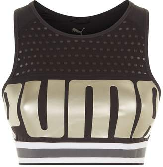 Puma Perforated Logo Sports Bra