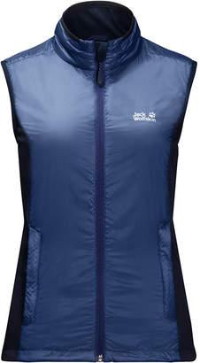 Jack Wolfskin Women's Air Lock Vest from Eastern Mountain Sports