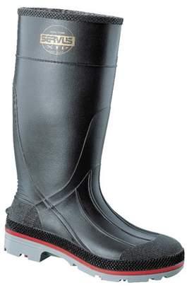 Servus® Servus XTP Knee Boots, Size 14, PVC, Black/Yellow/Gray