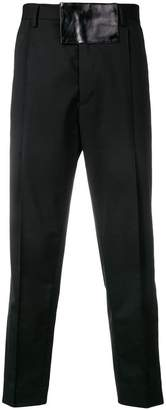 Just Cavalli relaxed-fit tailored trousers