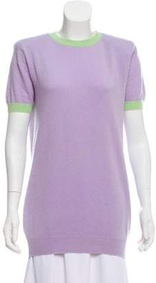 Chanel Structured Short Sleeve Top