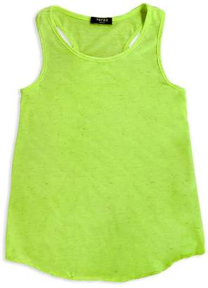 Terez Girls' Neon Racerback Tank - Little Kid, Big Kid