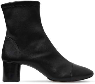 Isabel Marant 50mm Datsy Stretch Leather Ankle Boots
