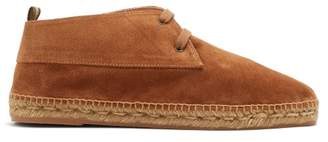 Castaner Suede Desert Boots - Mens - Tan