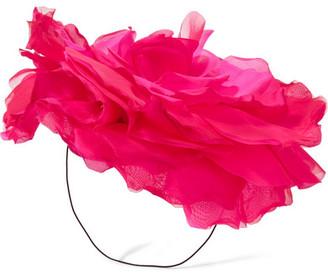 Eugenia Kim - Ardelia Silk-organza Fascinator - Pink $475 thestylecure.com