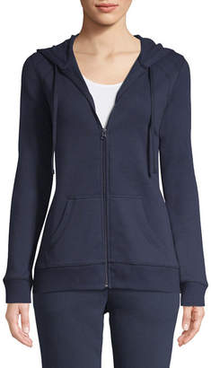 ST. JOHN'S BAY SJB ACTIVE Active Long Sleeve Fleece Jacket - Tall