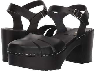 Swedish Hasbeens Baskemolla Sandal High Heels
