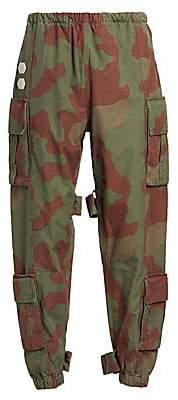 Off-White Men's Camo Cargo Pants