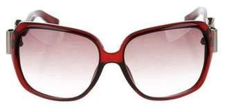 Gucci Buckle Square Sunglasses