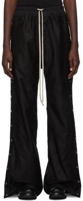 Rick Owens Black Easy Pushers Lounge Pants