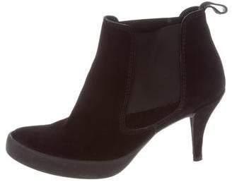 Pedro Garcia Suede Platform Ankle Boots