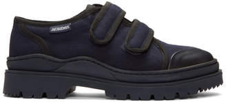 Jacquemus Navy Les Chaussures Gadjo Sneakers