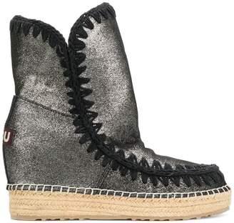 Mou metallic Int Eskimo boots