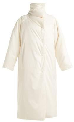 Jil Sander Long Line Down Filled Coat - Womens - Ivory