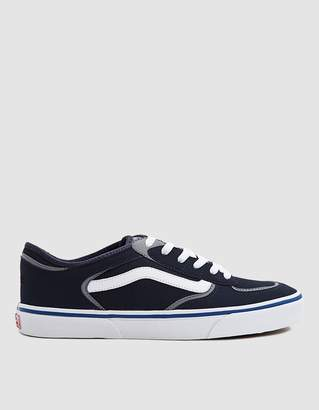 Vans Vault By Rowley Classic LX Sneaker in Navy/White